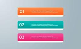 Illustration plate de conception de calibre de présentation pour la publicité de vente de web design images stock