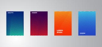 Illustration plate de conception de calibre de présentation pour la publicité de vente de web design photos stock