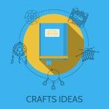 Illustration plate de conception des idées de métiers Photos stock