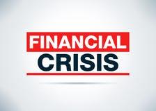 Illustration plate de conception de fond d'abrégé sur crise financière illustration libre de droits