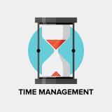 Illustration plate de gestion du temps illustration libre de droits