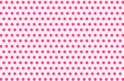Illustration of polka dots pattern background. vector illustration