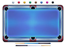 Illustration: Pool Balls, Snooker Balls, Billiard Balls HD  on White Background. Royalty Free Stock Images
