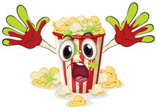 A popcorn Royalty Free Stock Photos
