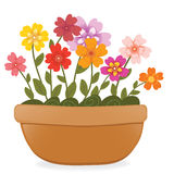 Flower pot Royalty Free Stock Image