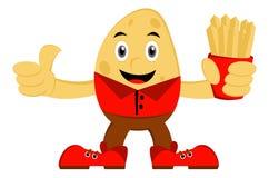Illustration of Potato Royalty Free Stock Images