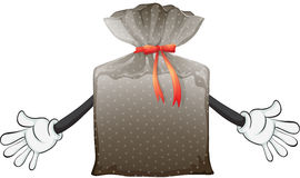 A pouch bag Stock Photography