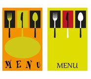 Illustration pour des restaurants Photo libre de droits