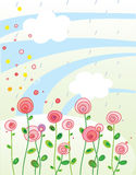 Illustration pour la carte de voeux. Photo stock