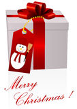 Illustration of a present isolated Royalty Free Stock Images