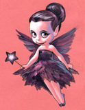 Illustration of a pretty fairy Royalty Free Stock Photo