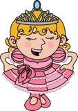 Illustration of princess Royalty Free Stock Photos