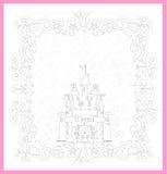 Illustration of  Princess Castle Royalty Free Stock Photos