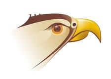 Illustration principale de faucons dans le vecteur Illustration Stock