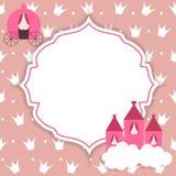 Illustration Prinzessin-Abstract Background Vector Lizenzfreies Stockfoto