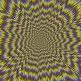 Illustration of psycho pattern Stock Image