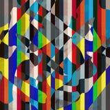 Illustration qualitative de vecteur de texture grunge géométrique abstraite de modèle pour votre conception illustration libre de droits