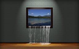 Illustration réaliste d'Iper Photo libre de droits