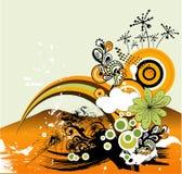 illustration rétro Image libre de droits