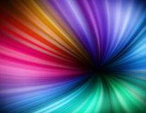 Illustration of rainbow vortex background Royalty Free Stock Photography