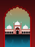 Illustration for ramadan kareem. Eid ul fitr wallpaper, vector illustration Vector Illustration