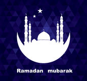 Illustration Ramadan mubarak Stock Photography