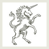 Illustration of a rampant Royalty Free Stock Photos