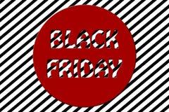 Illustration rayée noire de fond de promotion des ventes de vendredi illustration stock