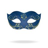 Illustration of realistic carnival or theater mask Royalty Free Stock Image