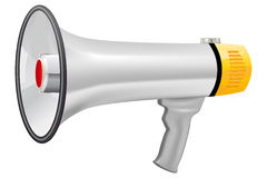 Illustration of realistic megaphone Stock Images