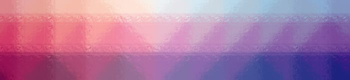 Illustration of red, blue and purple glass blocks background, abstract banner. Illustration of red, blue and purple glass blocks background, abstract paint royalty free illustration