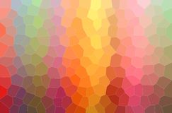 Illustration of red, gree, yellow and blue Middle size Hexagon paint background, digitally generated. Illustration of red, gree, yellow and blue Middle size stock illustration