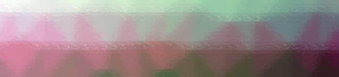 Illustration of red and green glass blocks background, abstract banner. Illustration of red and green glass blocks background, abstract paint stock illustration