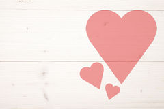 Illustration of red heart Royalty Free Stock Image