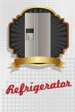 Illustration of a refrigerator Royalty Free Stock Images