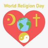 Illustration of religious freedom day Royalty Free Stock Photography
