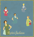 Retro  fashion Stock Photography