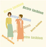 Retro  fashion Stock Images