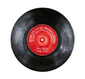 Illustration of retro phonograph record for `May 9` holiday. royalty free illustration