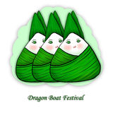 Illustration of  rice dumpling for Dragon Boat Festival Stock Photo