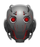 Illustration of robot head Royalty Free Stock Photography