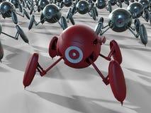 Illustration robotique d'appareils-photo illustration libre de droits