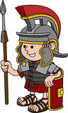 Illustration of Roman soldier Stock Photos