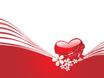 Illustration for romantic day Royalty Free Stock Images