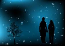 illustration romantique Image stock