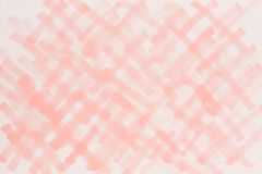 Illustration rouge lumineuse tirée par la main de fond Photographie stock libre de droits