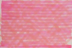 Illustration rouge lumineuse tirée par la main de fond Images stock