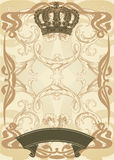 Illustration royal background Royalty Free Stock Image