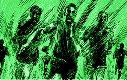 Illustration of running sport background artwork. Illustration of running. Drawing . swimming poster. Sport background. Artwork Royalty Free Stock Photos