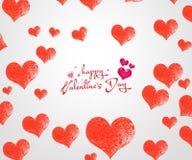 illustration s för hjärta för green för dreamstime för kortdagdesignen stylized valentinvektorn Fotografering för Bildbyråer